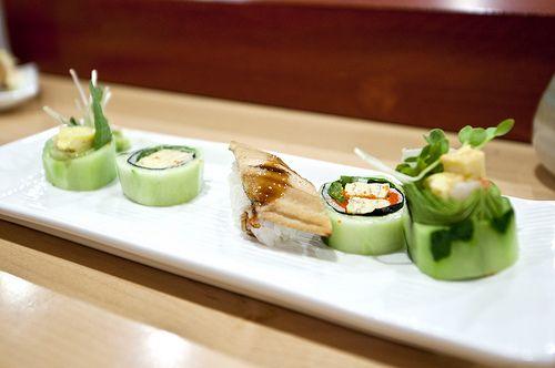 Sushi Yasu - Omakase: Tamago Roll and Anago