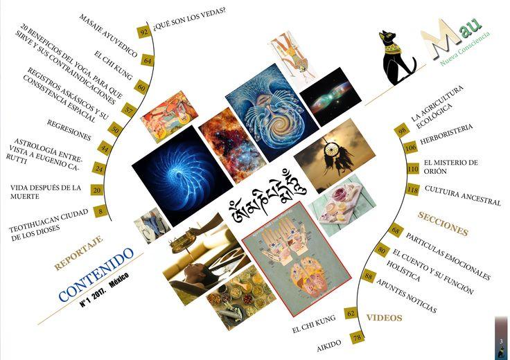 #Vol1 #Contenido #RevistaMau  Contenido del Volumen 1 de nuestra revista MAU Nueva Consciencia, disfrutalo en nuestra pagina web.  Descarga: https://maunuevaconsciencia.wixsite.com/revistamau © MAU Nueva Conciencia - Registro de marcas. Patentes y Marcas. Todos los derechos reservados.