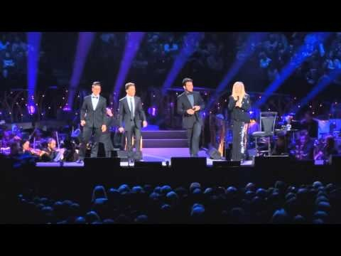 Barbra Streisand with Il Volo - Smile, Back to Brooklyn 2012 Barclays Center, NY 10/13/12