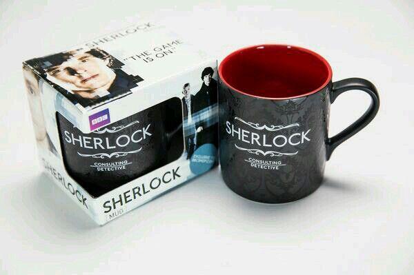 Love Sherlock!  http://sherlockology.tumblr.com/post/79258372310/sherlock-mug-notebook-bbc-shop
