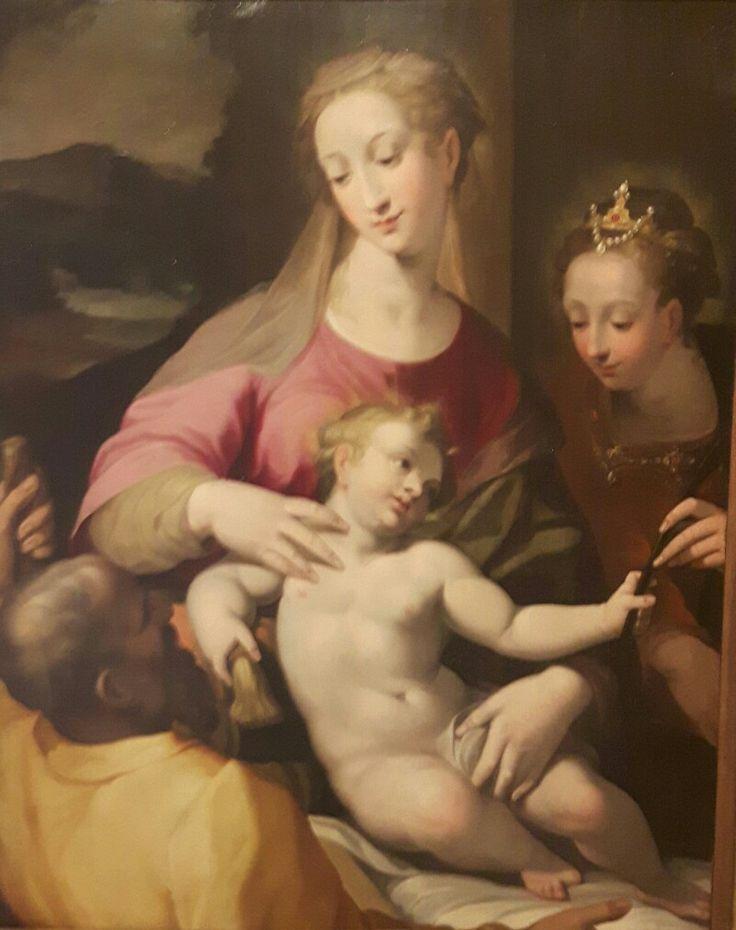 Matrimonio mistico di Santa Caterina   Palazzo Barberini.