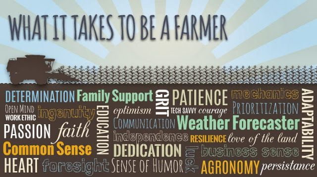 America's Farmers - The Blog: What it takes to be a farmer