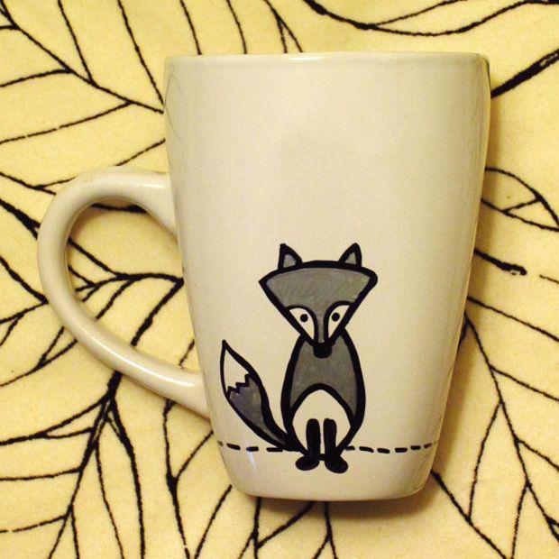 Fox - tasarım kupalar