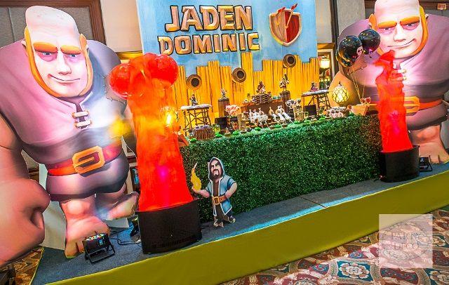 Jaden's Clash of Clans Themed Party - Sweet Treats Spread