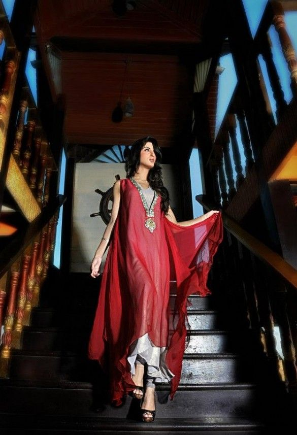 Fall Collection 2012 UMSHA by Uzma Babar