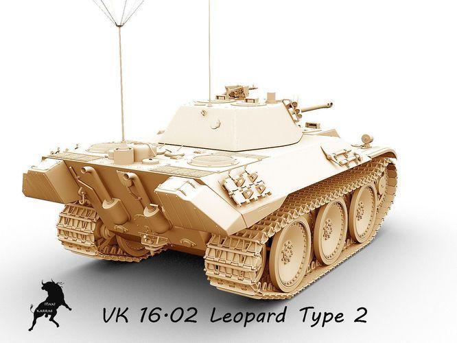 vk  16-02  leopard prototype 2 3d model max obj fbx 6