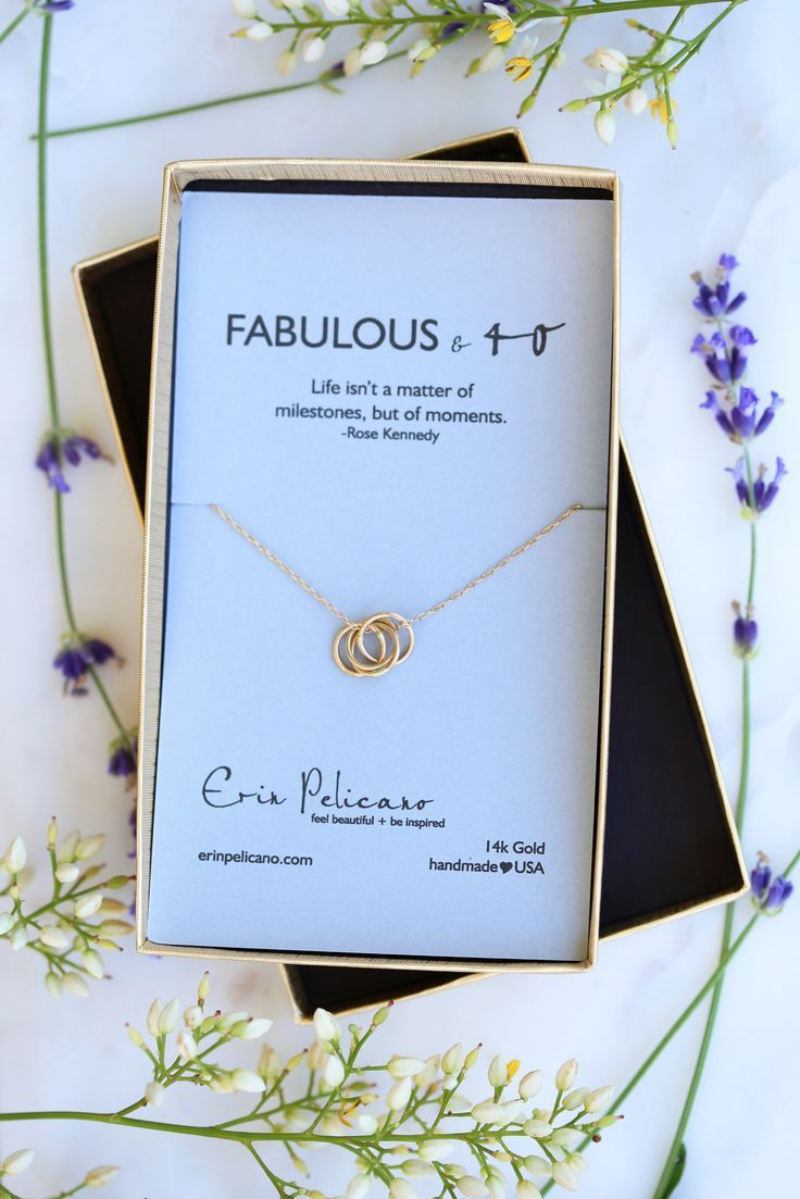 Celebrate Your 40th Birthday With 14k Gold Gifts