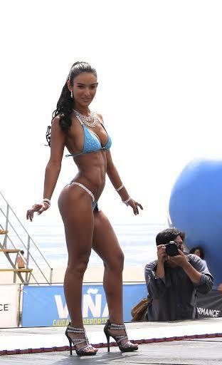 """Muscular Development #LatinoMagazine:  """"LA PRECIOSA COLOMBA AGUAD, UNA NUEVA PROMESA DEL FITNESS CHILENO"""""""