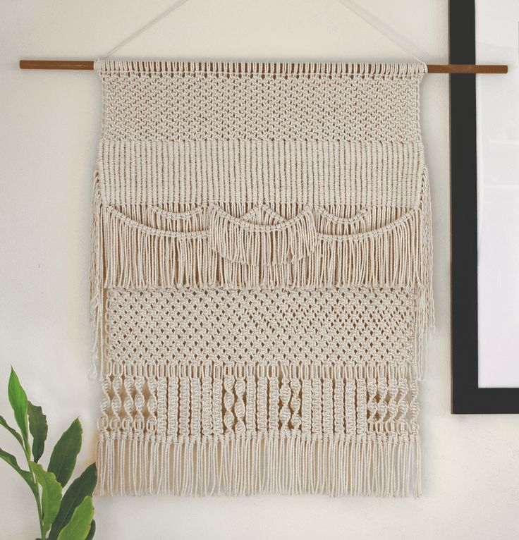 Cadencia | One of a kind handmade Macramé wall hanging by Macramé Mons. One piece revealed each fortnight on a Monday ✖️
