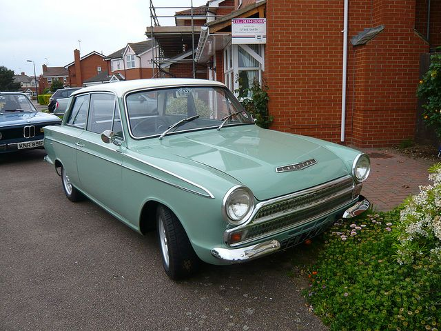 1966 Ford Cortina 1500 Super, a bit more obtainable than the Lotus version.  I can't remember which model ours was, but it was baby blue and LSP like it.....our 5th car....Pat