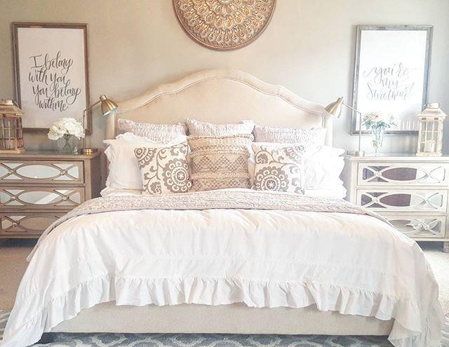 gold and white master bedroom Best 25+ Tan bedroom ideas on Pinterest | Tan bedroom walls, Tan walls and Navy master bedroom