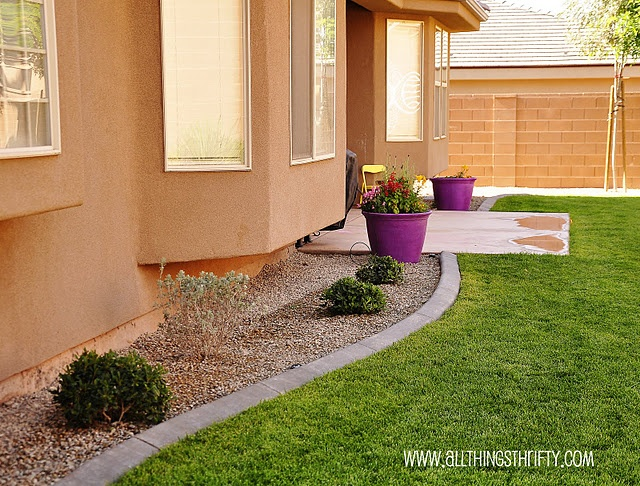 Landscaping Around The House : Best images about landscaping around house on