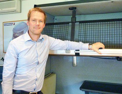 Klippan Safety utvecklar system för säker förvaring