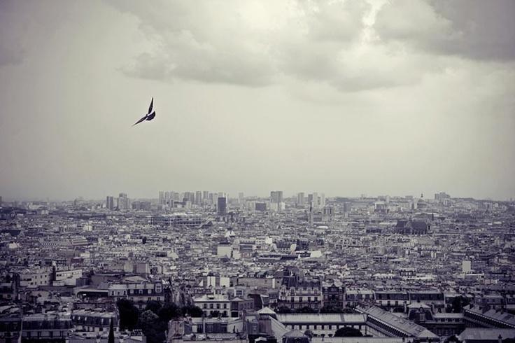 thunderstorm in Paris