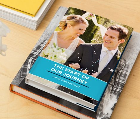 Wedding days are special days. This is an image of a Memeoirs #wedding book with conversations between a bride and groom. It was presented as a keepsake of the starting stages of their relationships.