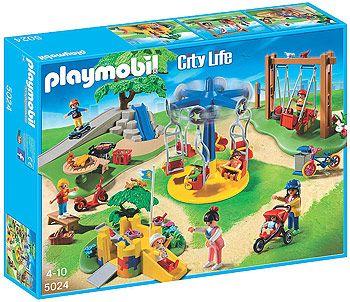 Playmobil City Life Children's Playground - 159 Pieces