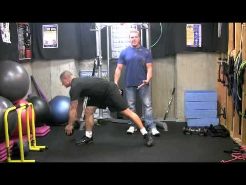 Lateral Reach Lunge