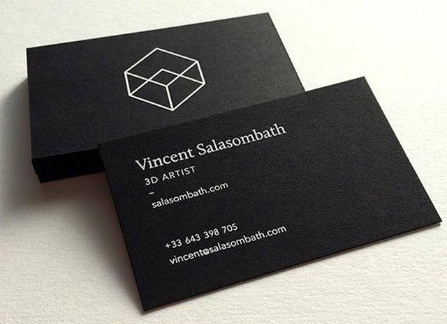 Branding Inspiration 3d Artist Business Card For Vincent Salasombath Hire Quality Logo And Brand Branding Inspiration Business Card Design Branding Design