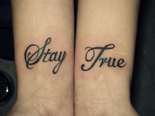 Stay True To Yourself Tattoos Tattoos Girly Tattoos Tattoo