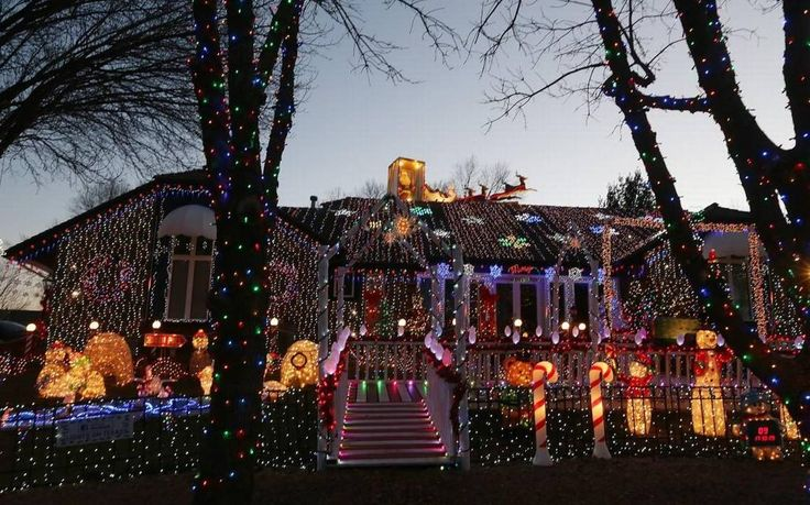 Beating back the darkness on these shortest days of the year, Christmas lights will be blazing for the next week leading up to Dec. 25, and some of them will be on through at least New Year's Eve as well.