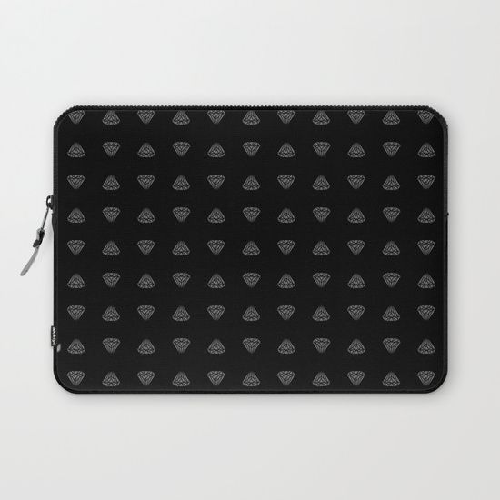 Diamonds are for boys too... Laptop Sleeve