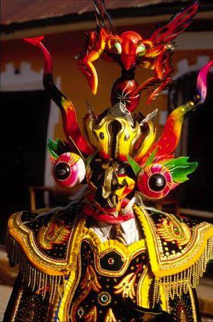 Festival of Candelaria, Puno, by Mylene d'Auriol Stoessel.