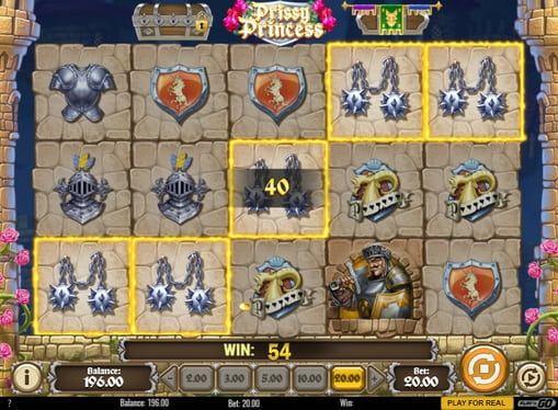 Игровой автомат Prissy Princess на реальные деньги  В игровом аппарате Prissy Princess вы сможете отправиться на средневековый рыцарский турнир. Начав играть на реальные деньги в этот автомат, вы получите массу удовольствия и отличных выплат.  Денежные сокровища красного др