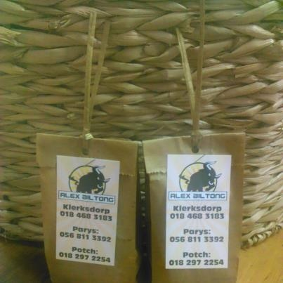 Mixed biltong packets done for a 50th Birthday