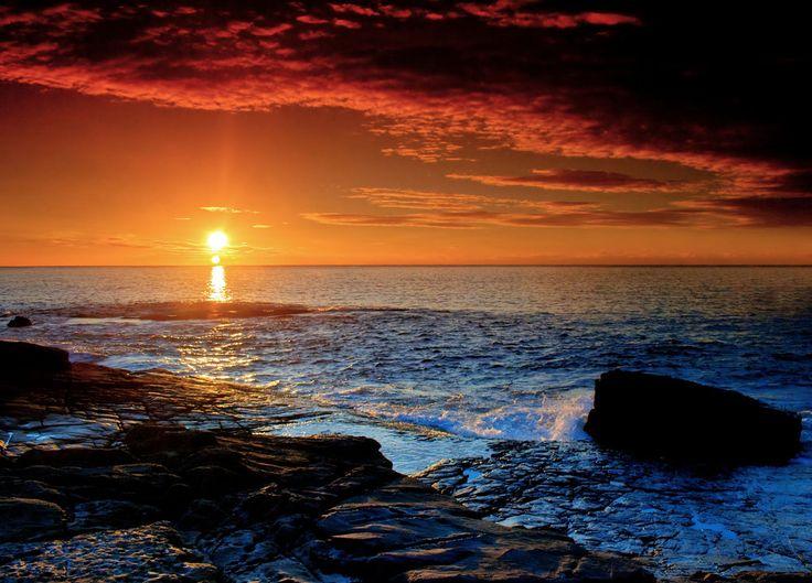 Merimbula Sunrise by Bjay70.deviantart.com on @deviantART