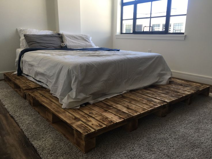 Best 25 Pallet Platform Bed Ideas On Pinterest Diy Bed