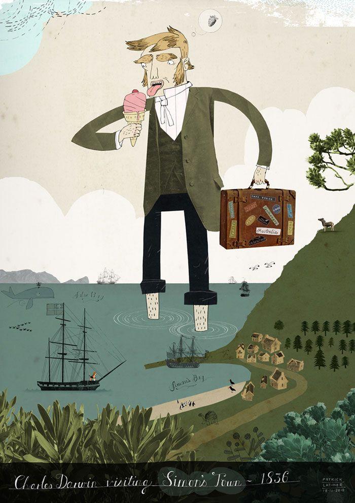 Patrick Latimer: Darwin visits Simon's Town