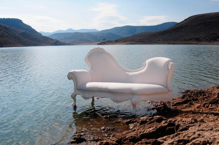 Add some whimsy from @polart_designs. A fun way to lounge - and its totally water proof