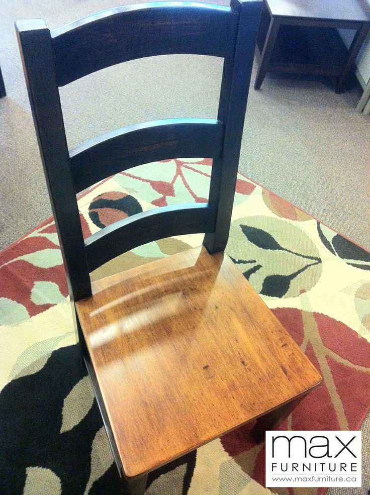 Irish Coast Ladder Back Chair, $235 CAD  Reclaimed Wood  Max Furniture  Victoria #