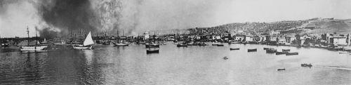 18 Αυγούστου 1917.  Η Θεσσαλονίκη καίγεται.