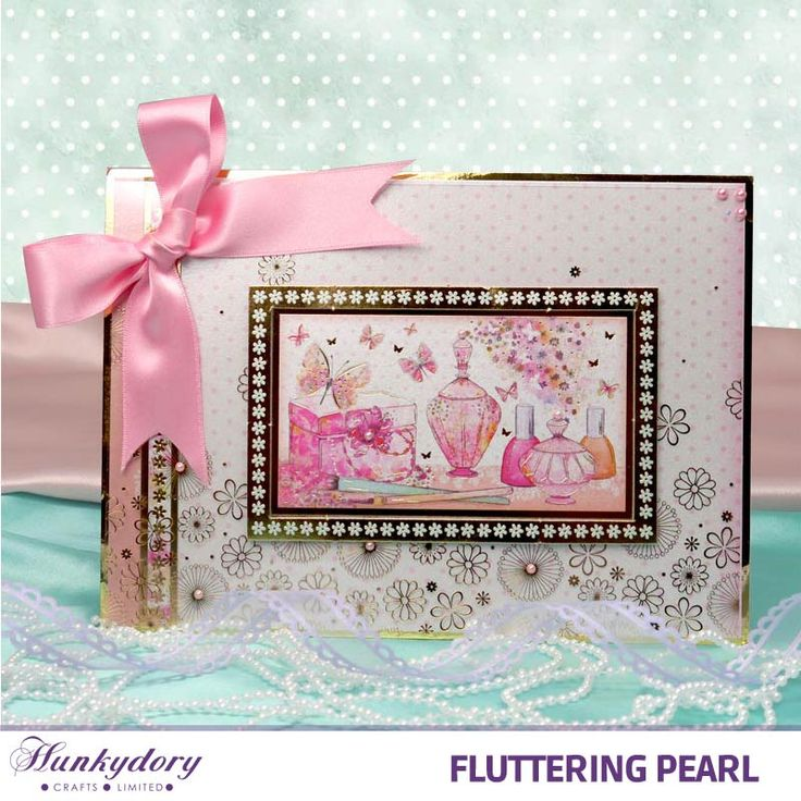 Fluttering Pearl - Hunkydory | Hunkydory Crafts