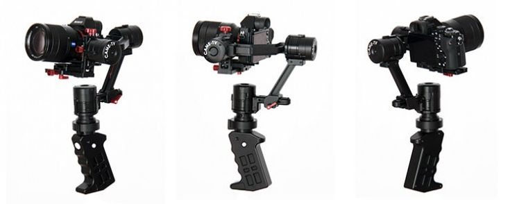 CAME-TV's Single 3-Axis Gimbal for One Hand Operation