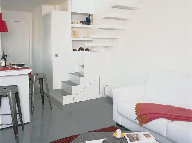 L agencement de cet appartement de petite surface a t Agencement petit appartement