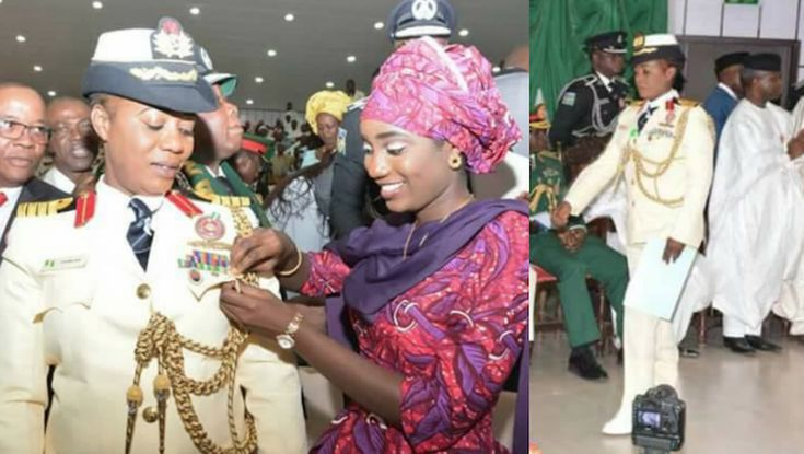 Commodore Jamila Malafa becomes the first Northern female General appointed by Nigerian Navy (Photos)