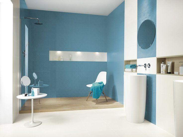 Les 25 meilleures idées de la catégorie Salles de bains bleues et ...