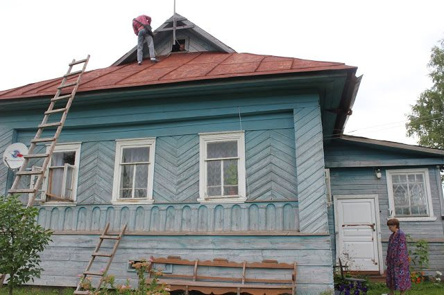 Жизнь горожанки в деревне: (+20)  Старшие в отпуске