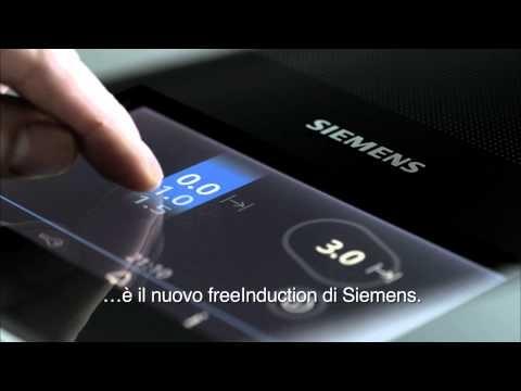 Questo non è un piano cottura...è il nuovo freeinduction di Siemens