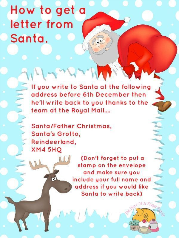 The  Best Santa Letter Ideas On   Letter From Santa