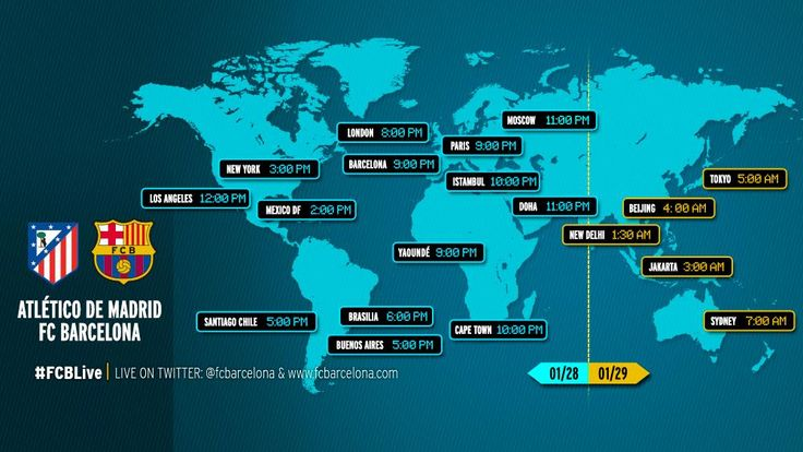 #AtletiFCB When and where to watch Atlético Madrid v FC Barcelona http://ow.ly/I0Mbs