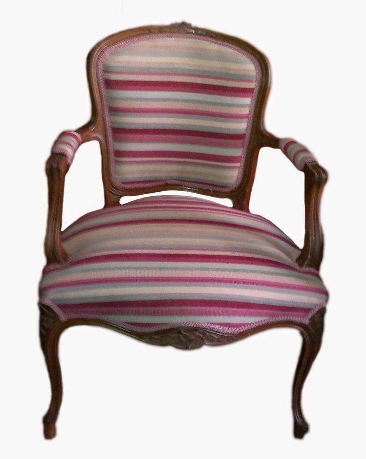 M s de 1000 ideas sobre sillas tapizadas en pinterest - Sillas luis xvi modernas ...