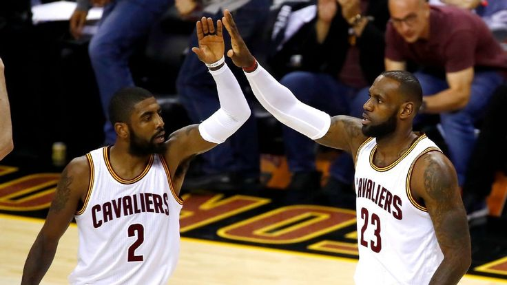 Cavs make Finals history with 49 in first quarter #FansnStars