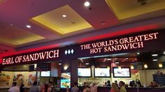 Earl of Sandwich, Las Vegas Picture: Earl's menu - Check out TripAdvisor members' 61,615 candid photos and videos of Earl of Sandwich