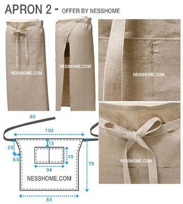 avental com PAP (DIY) em patchwork #apron #avental