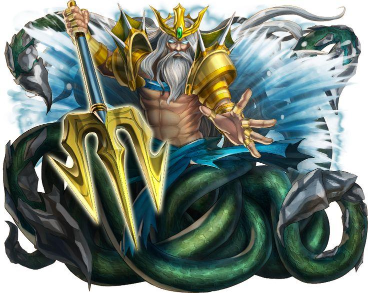 No.192 海神波塞頓 Poseidon God of the Sea #神魔之塔 #神魔_希臘神