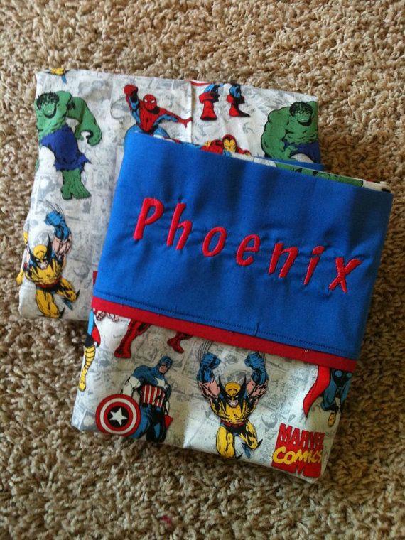 Custom Marvel Crib Bedding by LaineybelleBoutique on Etsy