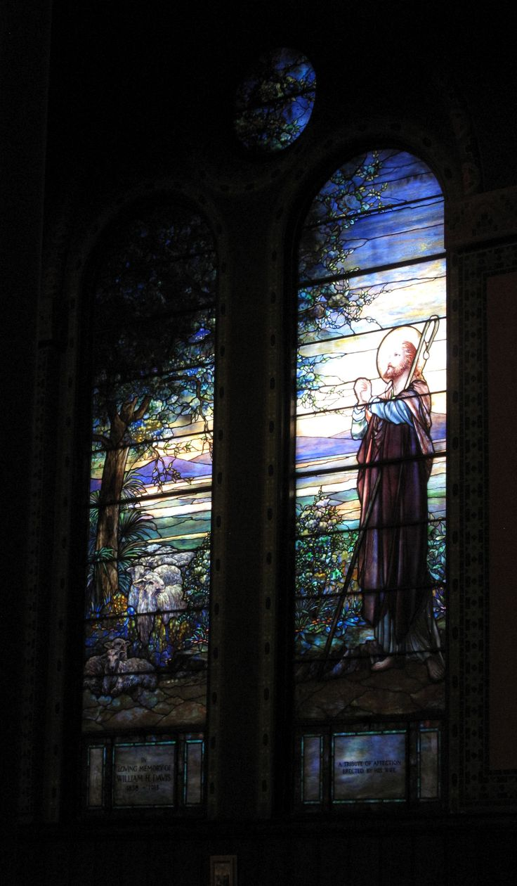 The Good Shepherd Window, executed by the Tiffany studios